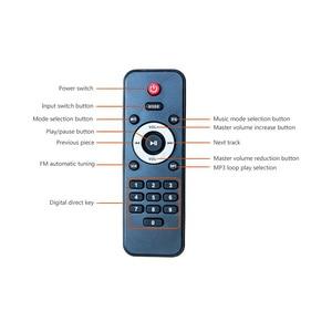 Image 3 - SUNBUCK 150W + 150W HiFi Senza Fili di Bluetooth Stereo Digitale Amplificatore di Karaoke Amplificatore Audio Home Theater di Sostegno USB/ carta di DEVIAZIONE STANDARD
