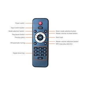 Image 3 - SUNBUCK 150W + 150W HiFi bezprzewodowy Bluetooth cyfrowy wzmacniacz stereo Karaoke kina domowego wzmacniacz audio obsługuje usb/SD Card