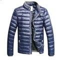 2016 / novo casaco de inverno climatização jaqueta de algodão de negócio dos homens roupas casuais, Homens para baixo casaco, Frete shippingFIH52