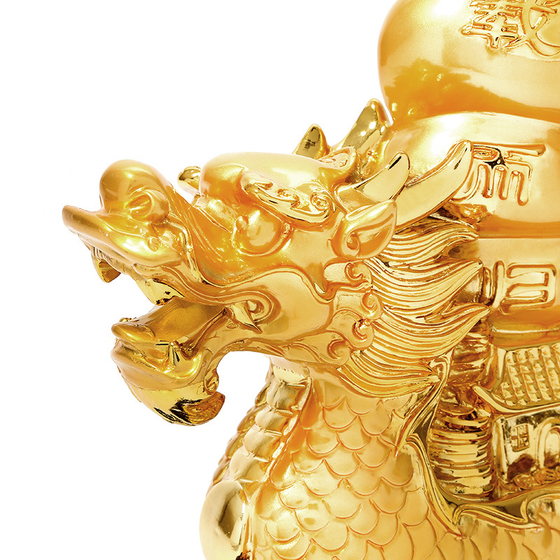 Chinesischen stil harz segel segeln drache ornamente hause glück dekoration handwerk-in Figuren & Miniaturen aus Heim und Garten bei  Gruppe 2