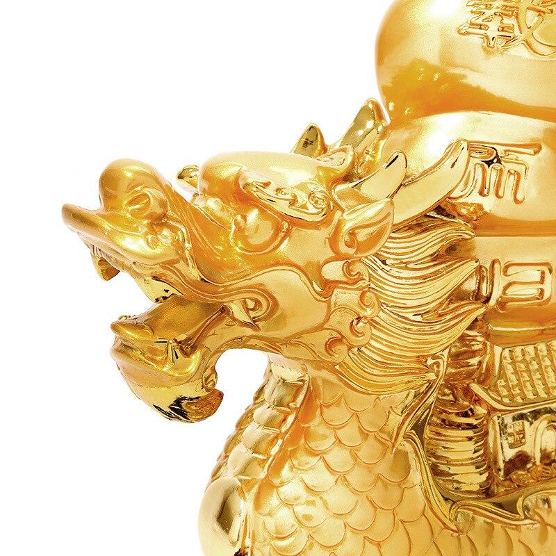 Ev ve Bahçe'ten Heykelcikler ve Minyatürler'de Çin tarzı reçine yelken yelken ejderha süsler ev şanslı dekorasyon el sanatları'da  Grup 2