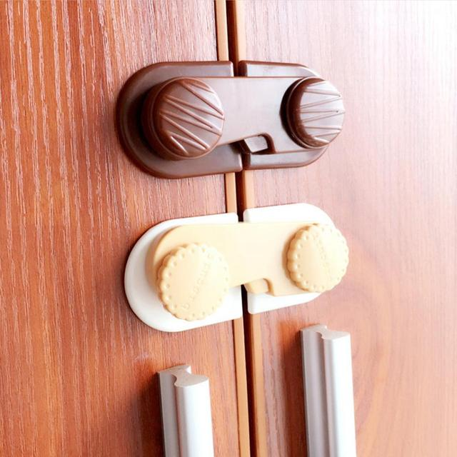 Creative Kids Baby Safety Locks For Cabinet Fridge Drawer Child Lock  Cupboard Door Childproof Latches Baby