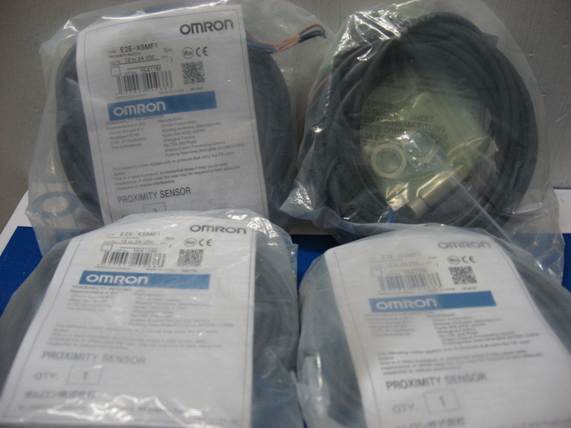 [ZOB] 100% brand new original authentic OMRON Omron proximity switch E2E-X5MF1 2M  --2PCS/LOT new original proximity switch im12 04bns zw1