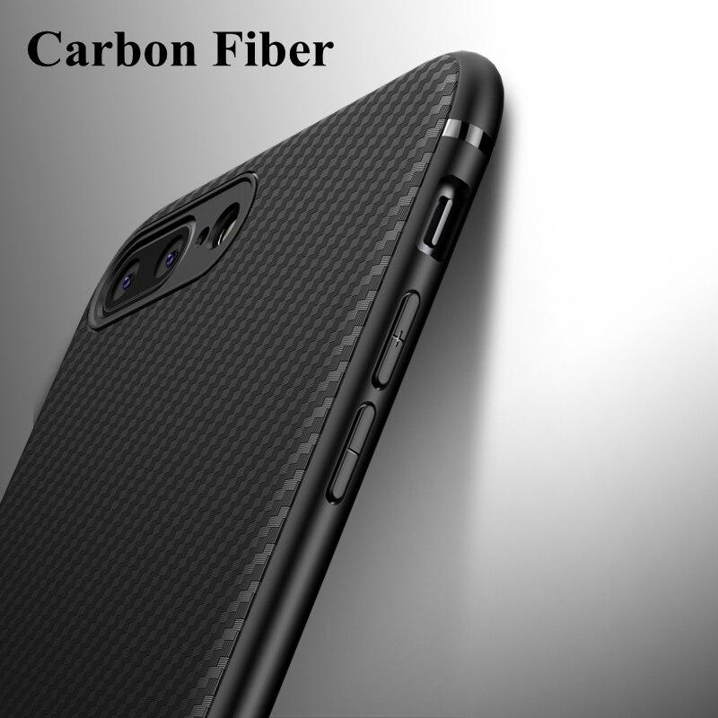 Cas De Fiber de carbone pour iphone 6 plus 5 5S SE XR X 10 Doux Couverture De Luxe pour iphone 7 8 plus iphone 6s 6plus XS MAX cas Accessoire