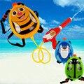 Niños niños de pistola de agua pistola de agua juguetes de playa al aire libre del pvc grande mochila de dibujos animados divertidos juguetes pistola de agua a presión