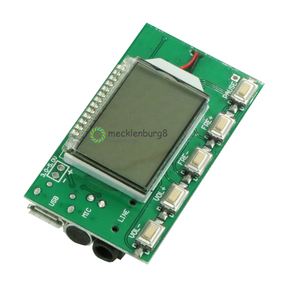 Image 2 - DSP PLL 87 108 MHz LCD Display FM Radio Wireless Microphone Stereo Transmitter / Receiver Module Bestseller Brand New