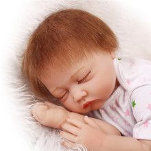 NPK Hot Brand 55cm 22inch Reborn Dolls Babies With Real Cotton Made Layette Top Seller Of Sleeping Bebes Benecas Best Brinquedos