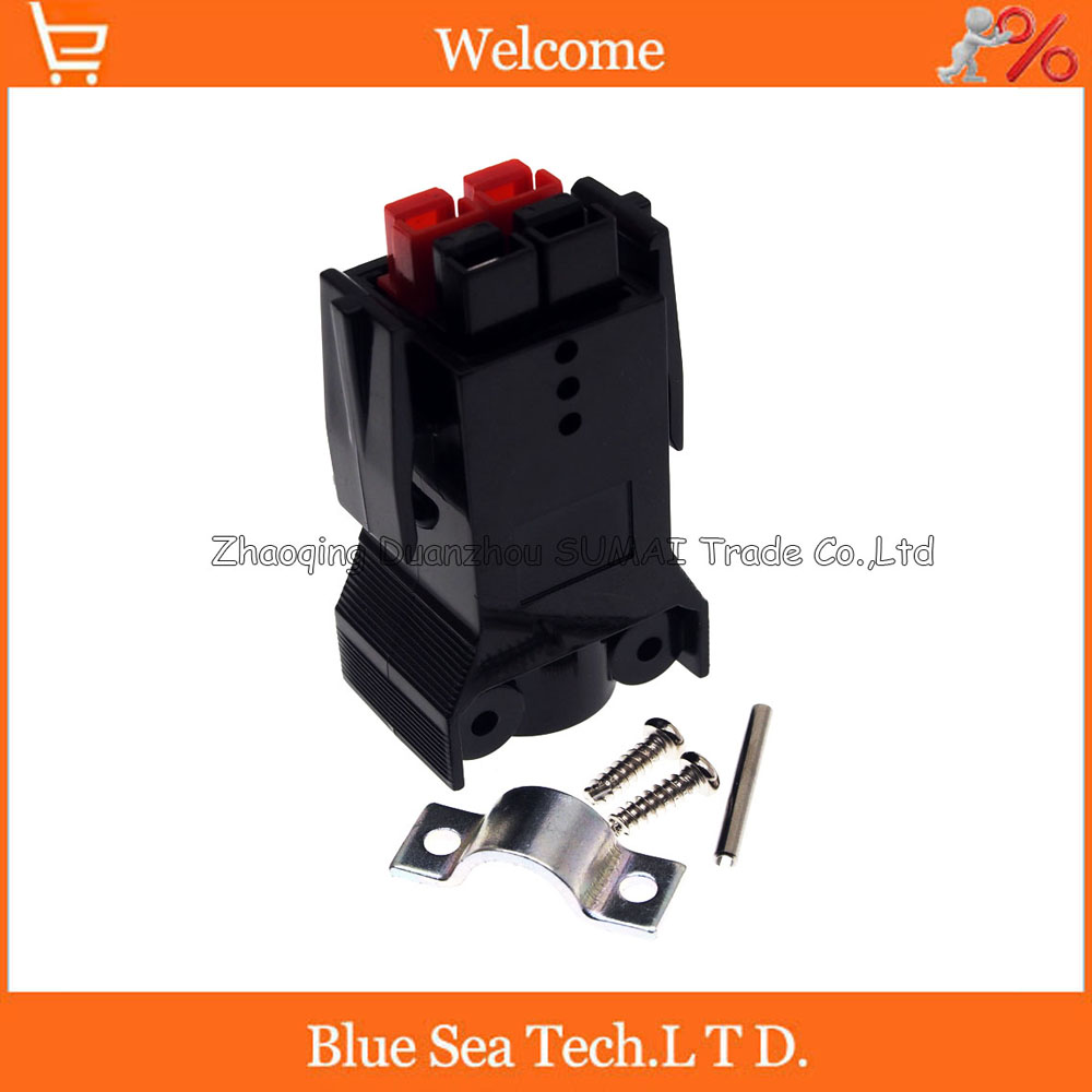 New 4 Pin 30A 600V 4Pin /Pole/Wire female PCB Power Connector module Battery Plug with Pin for UPS forklift electrocar ect. 1 sets new 1pin 120a 600v power connector battery plug male