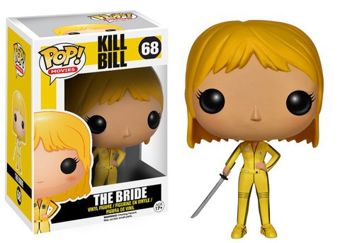 Original Funko pop Kill Bill Movie - The Bride #68 Beatrix Kiddo Collectible Vinyl Figure Model Toy with Original box limited edition original funko pop dc universe green lantern the arrow vinyl figure collectible model toy with original box