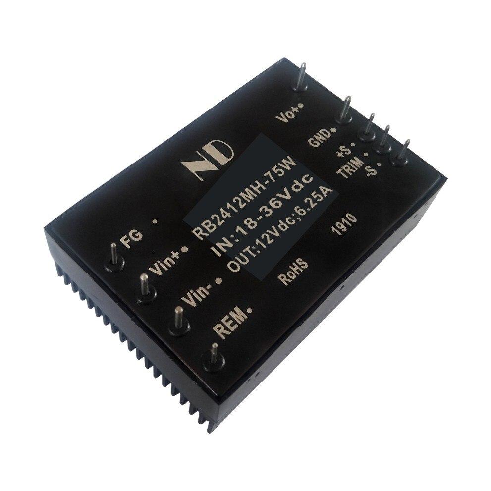 Nouveau convertisseur de tension cc dc isolé 5 V 10A 12 V 5A 15 V 18 V 24 V 28 V 48 V abaisseur des produits de qualité du module d'alimentation