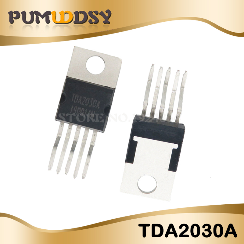 10pcs <font><b>TDA2030</b></font> TO220 TDA2030A TO220-5 new and original <font><b>amplifier</b></font> free shipping image