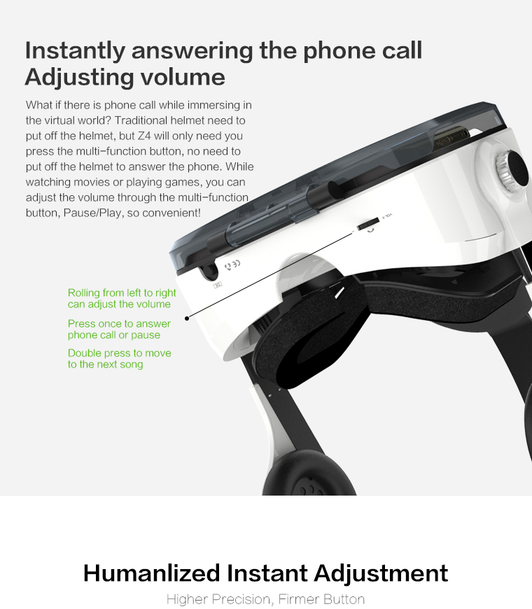Original brand BOBOVR virtual reality 3D VR glasses near its territory Z4 best-selling Fit HD Large screen Smartphones 7