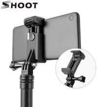 SHOOT Phone Clip Holder for iPhone X 8 6S 7 6 Plus Xiaomi 9 8 9 se Huawei Samsung S8 S9 iPhone Selfie Stick Tripod Accessories