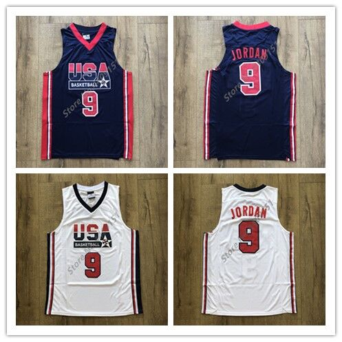 662f97030e3995 Mens  23 Michael Jordan 1992 Dream Team USA Basketball Jersey S XXL-in Basketball  Jerseys from Sports   Entertainment on Aliexpress.com