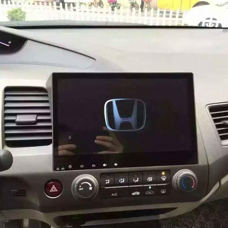 "Honda Civic 2019 Indash Navigation Android System: 10.2"" Android 7.1 Car GPS 2 DIN For Honda Civic 8"