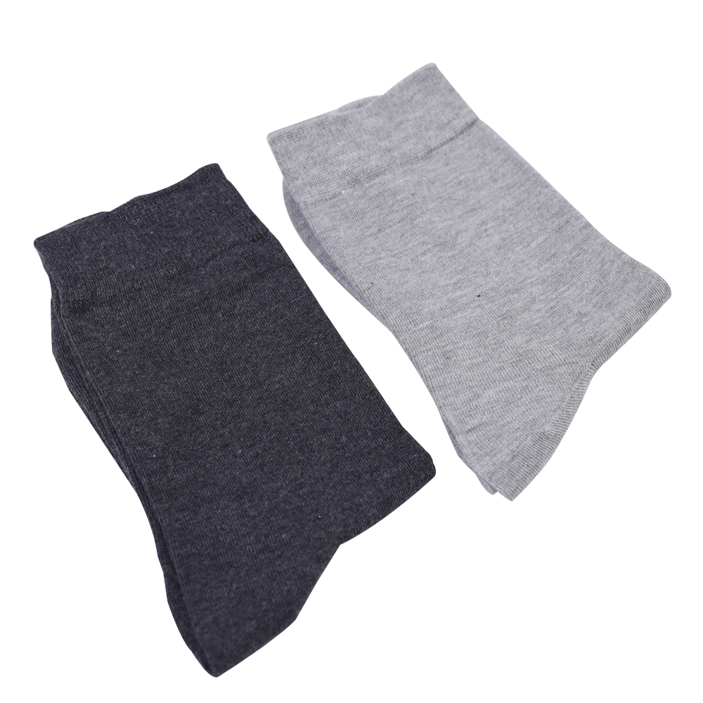 OUR MODE autumn winter men high quality brand cotton socks for man black business casual long socks male 1lot=5pairs