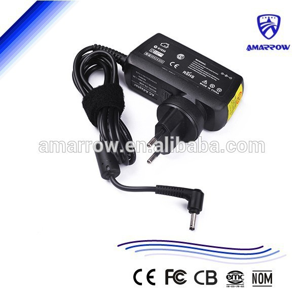 Ac adapter for ASUS Zenbook UX31E/UX21 19V 2.37A 3.0*1.0mm