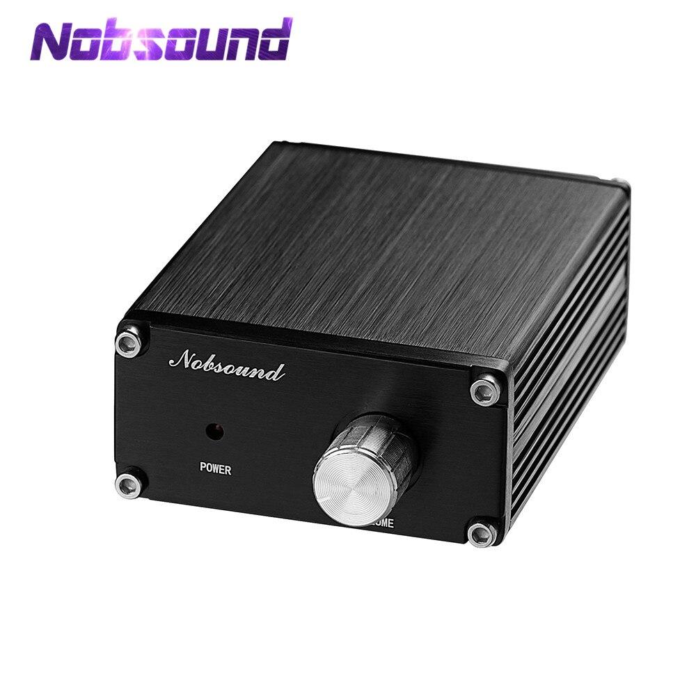 Nobsound Dernière Mini 100 w Subwoofer Amplificateur de Puissance Mono Canal Audio TPA3116D2 Amp Noir/Gris