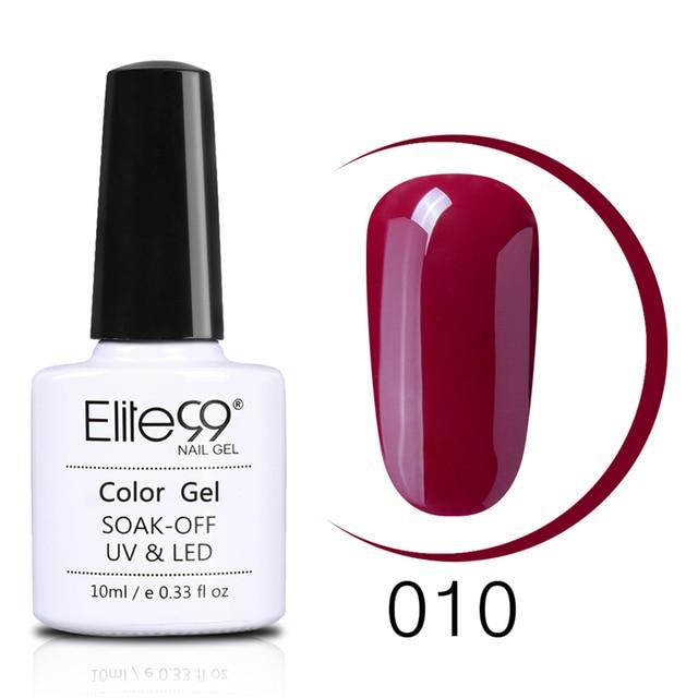 Elite99 Wein Rot Serie 36 Farben Pick 6 Nagel Gel Polnisch Benötigen UV Gel LED Lampe Maniküre Lack 10 ml semi-Permanent Nail art Gel