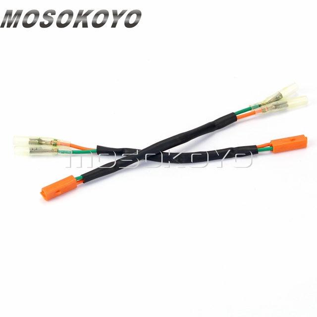 Terrific Online Shop 4Pcs Turn Signal Oem Connectors Indicator Cable Lead Wiring Cloud Ratagdienstapotheekhoekschewaardnl