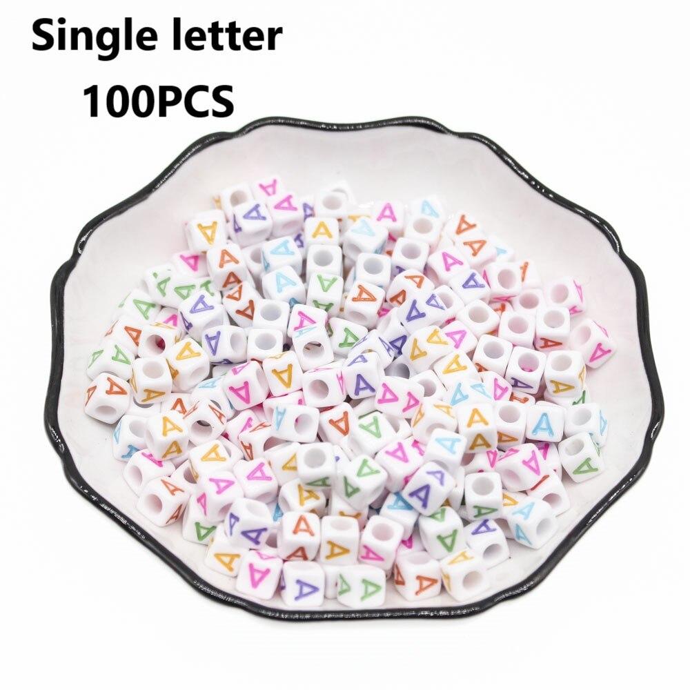 À Rayures Cube Carré Résine Acrylique Perles 10 mm Couleurs Mélangées
