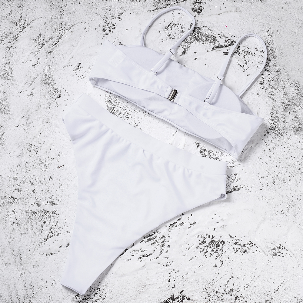 HTB12aGeaUrrK1RkSne1q6ArVVXaO ZTVitality Sexy Bikinis Solid Push Up Bikini 2019 Hot Sale Padded Bra Straps High Waist Swimsuit Swimwear Women Print Biquini XL