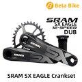 2019 SRAM SX águila 12 Velocidad DUB 30 32 34T de acero plato 170mm 175mm biela de bicicletas MTB