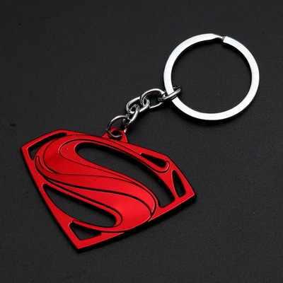 1 Pcs Mainan Proses Merah Logam Besi Kuning Tengkorak Manusia Gantungan Kunci Topeng Gantungan Kunci Mainan Batman Gantungan Kunci Gantungan Kunci Hadiah Mainan