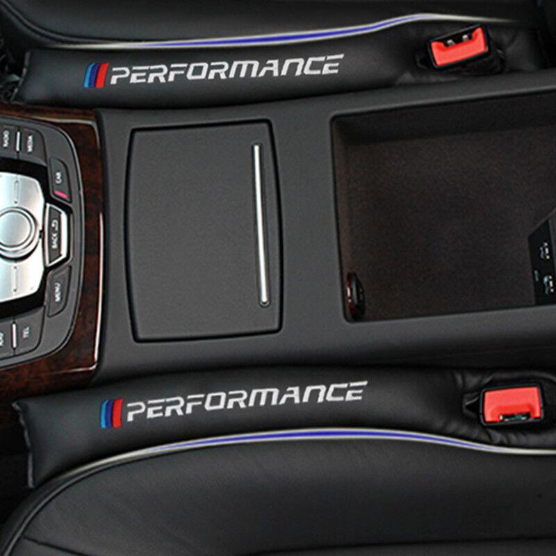 2PCS New Car Seat Gap Filler Soft Pad Padding Spacer For BMW E46 E53 E60 E90 E91 E92 E93 F30 F20 F10 F15 F13 M3 M5 M6 X1 to X5