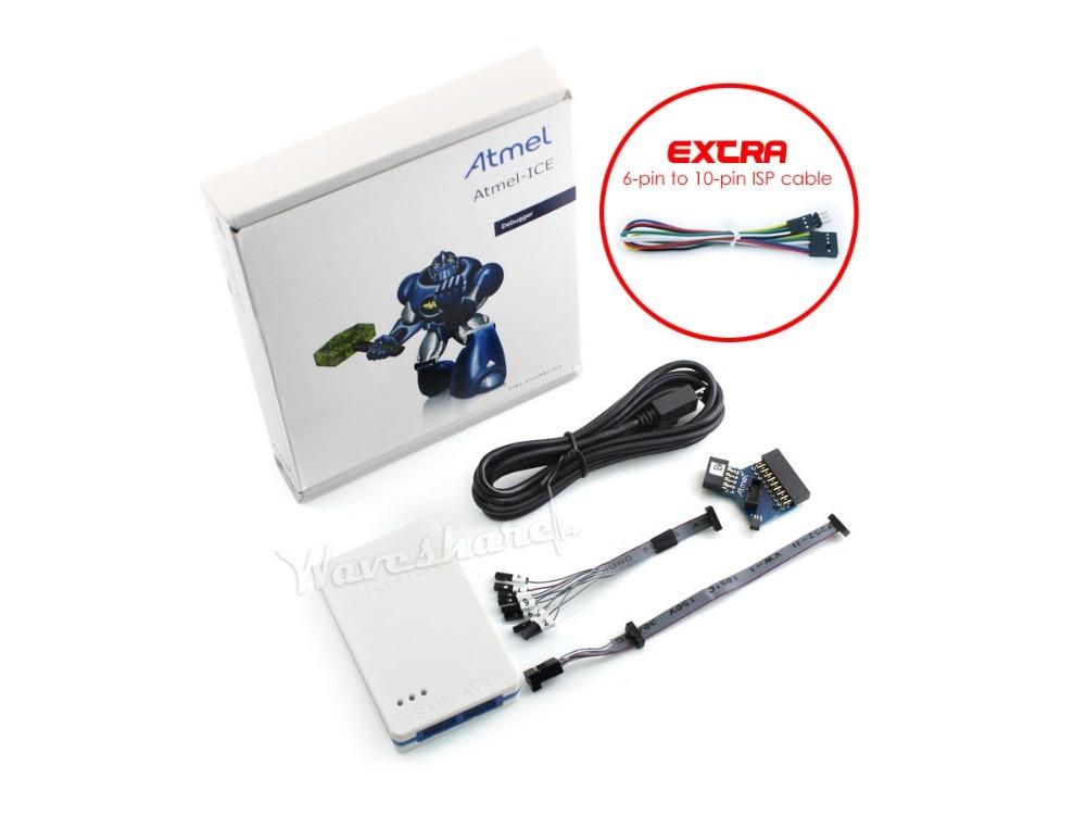 Original Atmel SAM and AVR Atmel-ICE Programmer USB Debugger Emulator Supports JTAG,SWD, PDI, TPI, aWire,SPI, debug WIRE