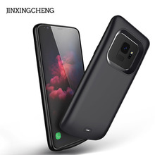 JINXINGCHENG Charger Battery Case for Samsung Galaxy S9 Plus 5200mah Back Clip Fast Samsun Cover