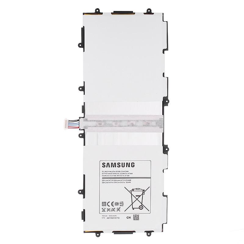 SAMSUNG Ersatz Akku Für Samsung GALAXY Tab3 P5220 Authentische Tablet Batterie 6800 mah T4500E P5200 P5210