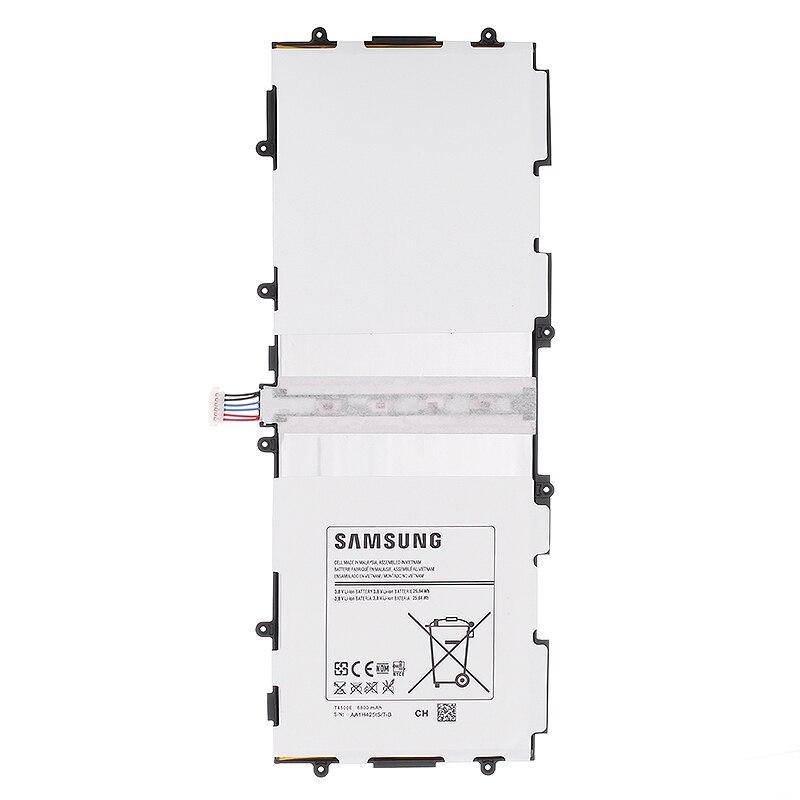 SAMSUNG Remplacement Batterie Rechargeable Pour Samsung GALAXY Tab3 P5220 Authentique Tablet Batterie 6800 mah T4500E P5200 P5210