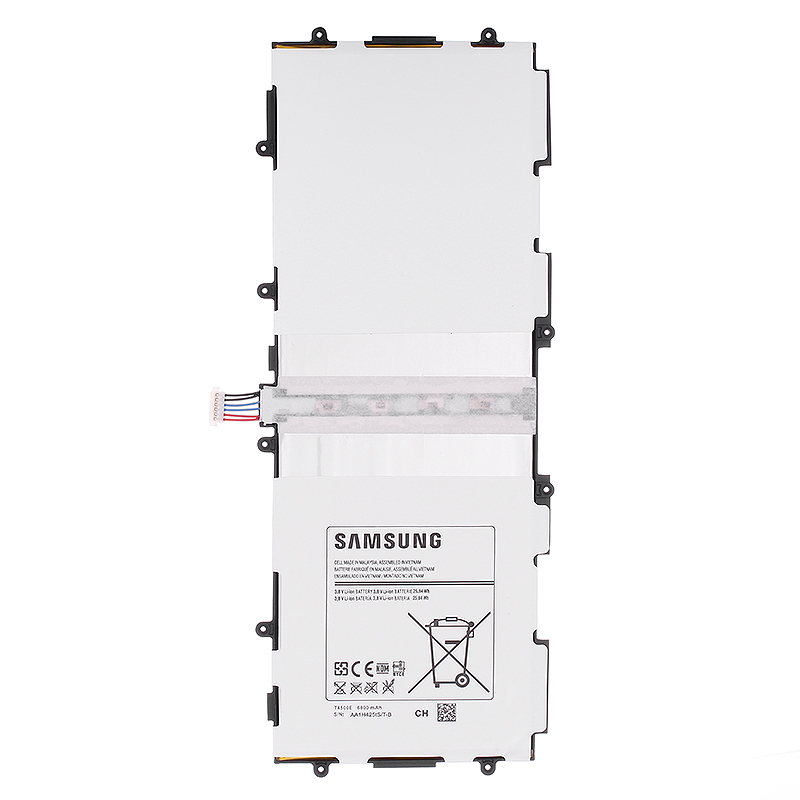 SAMSUNG Replacement Rechargeable Battery For Samsung GALAXY Tab3 P5220 Authentic Tablet Battery 6800mAh T4500E P5200 P5210