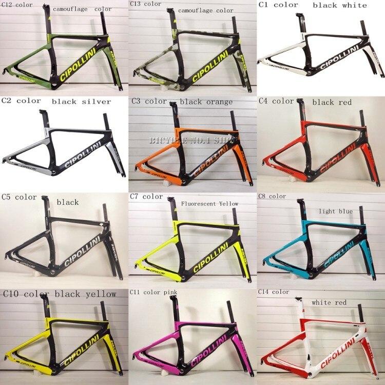 2018 NUOVO Cipollini NK1K RB1K T1100 3 k 1 k carbonio telaio della bici della strada bicicletta da corsa frameset del carbonio top bike può XDB la nave