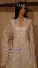 Custom Made Medieval Renaissance Lace Vintage Style Vintage Dress/Party Dress/Halloween Costume
