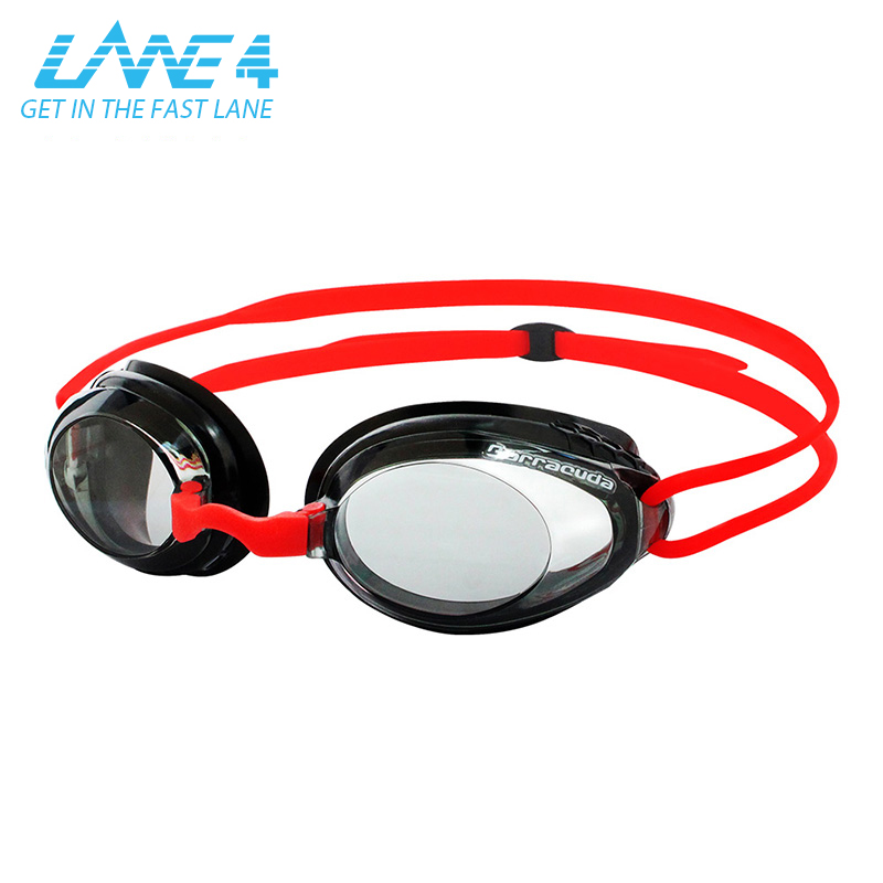 LANE4 Optical Swim Goggle AQUACLAIR with Honeycomb-structured Gaskets No leaking Easy adjusting for Adults #92695