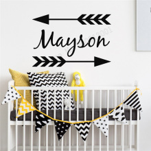 Art  Wall Sticker Vinyl Removeable Poster Personlized Name Decor Beauty Design Ornament LY196