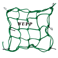 Universal Car Motorcycle Cargo Net Car Luggage Plastic Net Elastic Cargo Mesh Netting With Hook 30X30CM