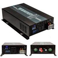 3000W 12V/24V/48V to 110V/120v/220v/240V DC AC Voltage Transformer LED Display Off Grid Pure Sine Wave Solar Power Inverter