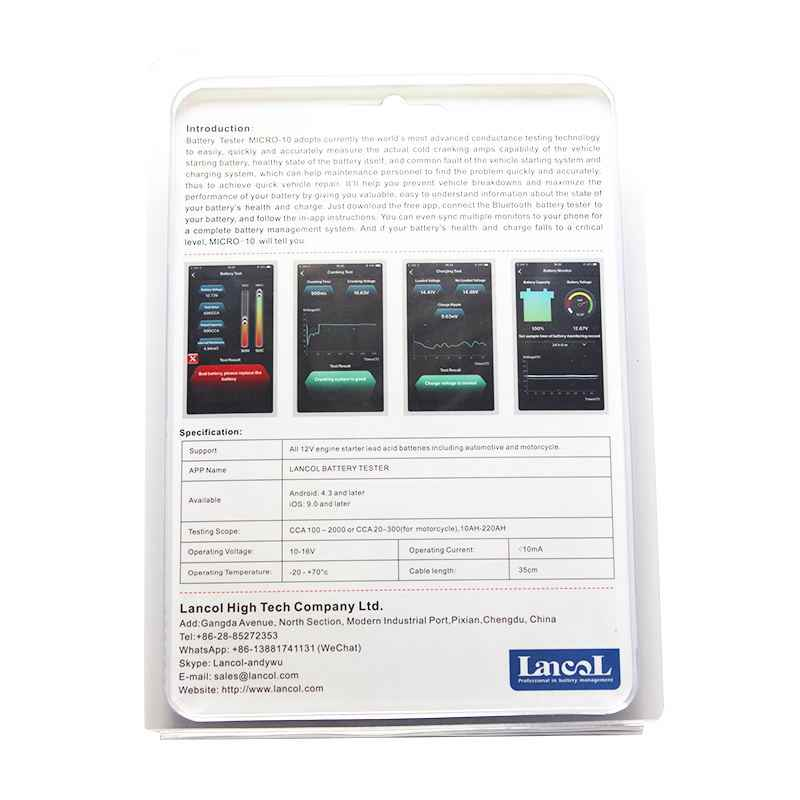 Car Battery Voltage >> Detail Feedback Questions About Lancol Digital Battery Tester With