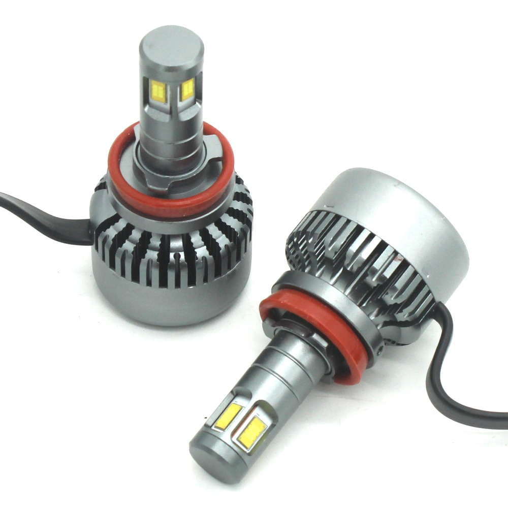 Modifygt V10 H7 <font><b>led</b></font> H4 <font><b>led</b></font> H11 <font><b>H15</b></font> 100W 8000LM 12V24V Car <font><b>led</b></font> light canbus <font><b>no</b></font> <font><b>error</b></font> hi-lo Headlight car accessories image