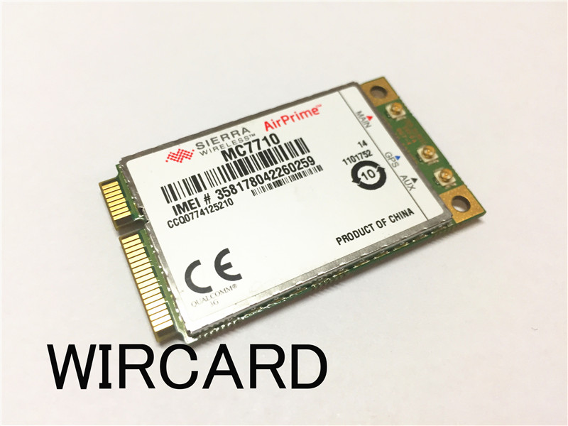 MC7710 4G LTE Module SKU 1101752 support B1 B3 B7 B8 B20 CAT3 100M HSDPA HSUPA