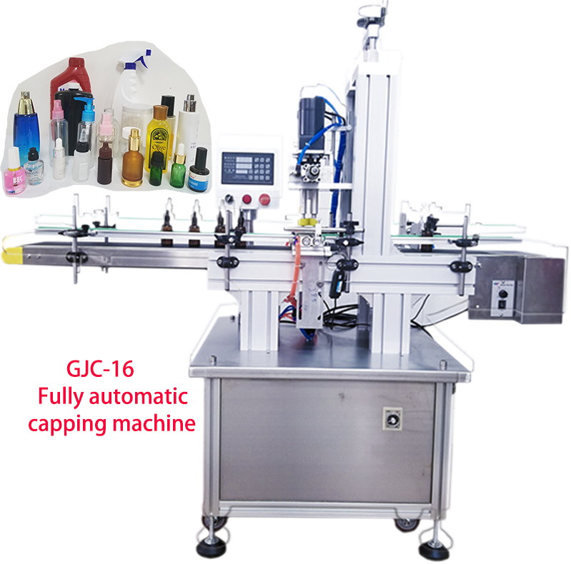 newest fully GJC-16 automatic capping machine, special cap, spray, cosmetic,medical trigger cap capper machine, shampoo cap lid cap varsity cap page 16