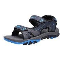 SAGACE/уличные модные мужские сандалии; Летняя мужская обувь; Повседневная обувь; дышащие пляжные сандалии; Sapatos Masculinos; размера плюс 39-45