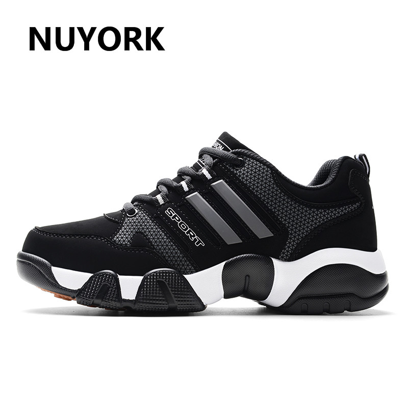 NUYORK New outdoor men 2017 brand Running shoes Winter plus cashmere warm trending men sneakers flat with running shoes for men keloch new style men running shoes outdoor jogging training shoes sports sneakers men keep warm winter snow shoes for running