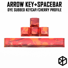 Arrow key Spacebar Cherry profile Dye Sub Keycap thick PBT for keyboard gh60 xd60 xd84 tada68 rs96 zz96 87 104 660