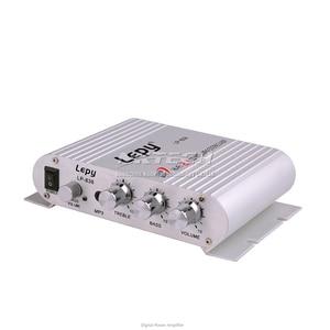 Image 4 - LP 838 Lepy MINI Digitale Auto Eindversterker 2.1CH 20W 2x15W Hi Fi MP3 MP4 Stereo booster DVD Motorfiets Home BASS Audio Speler