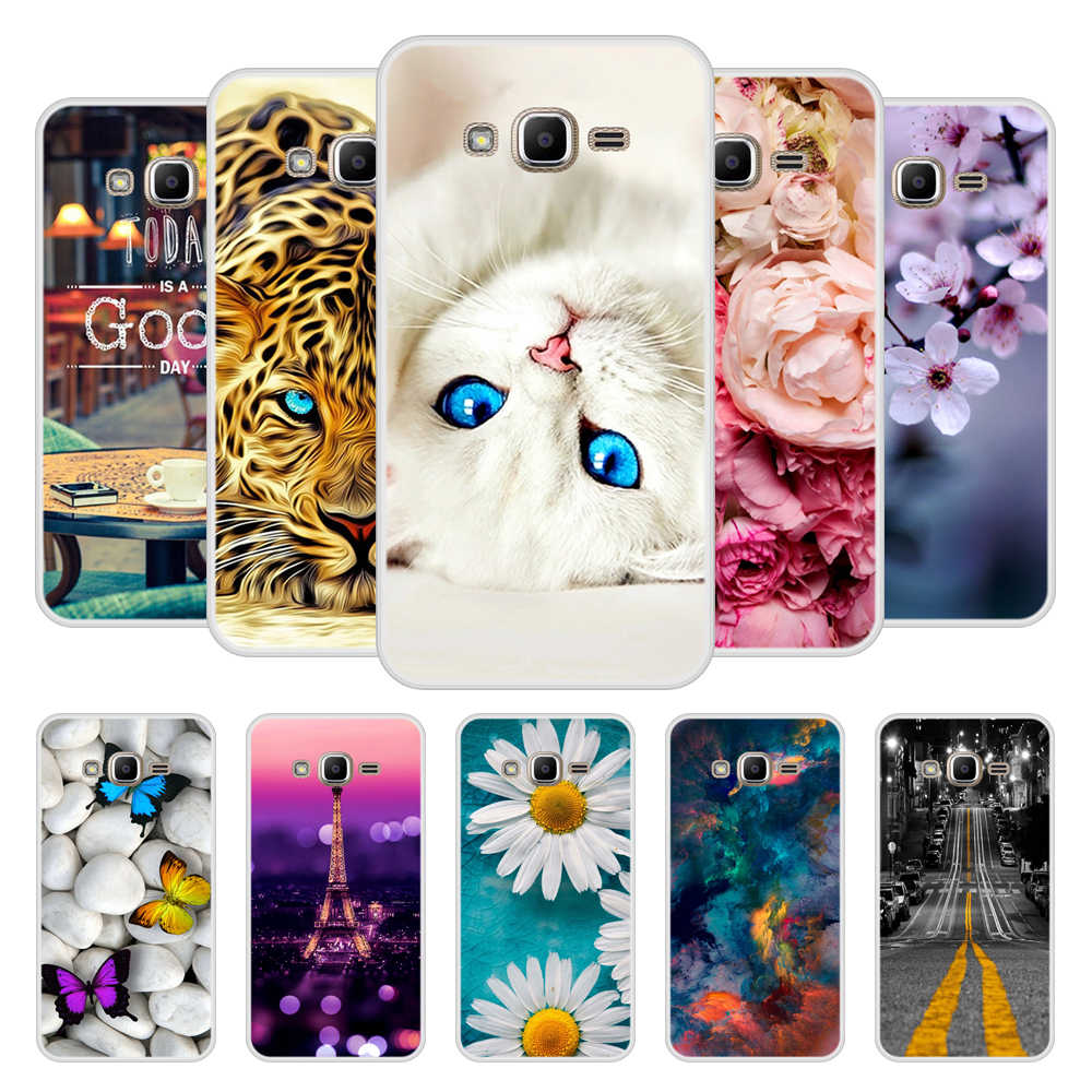 Case for Samsung Galaxy J2 prime Soft Silicone TPU Cute Patterned Paint Phone Cover for Samsung J2 prime Case