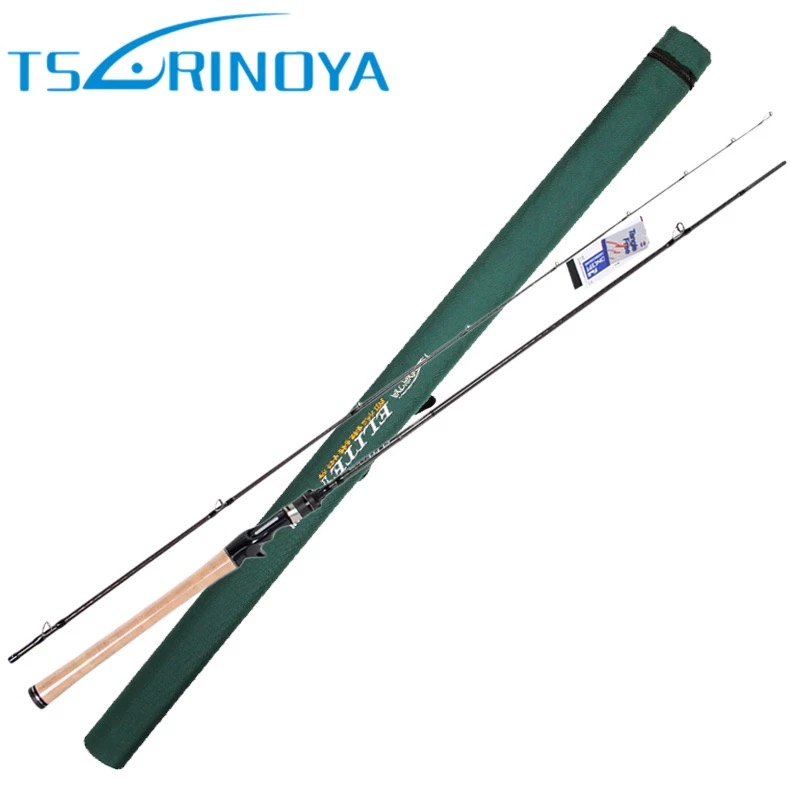 Trulinoya Hard Baitcasting Fishing Rod 2 Section Carbon 2.13m Power M Lure Weight 5-21g 3A Cork Handle Lure Rod Fishing Tackle seaknight trulinoya 2 1m 145g two segments plug bait carbon casting hard spinning lure fishing rod